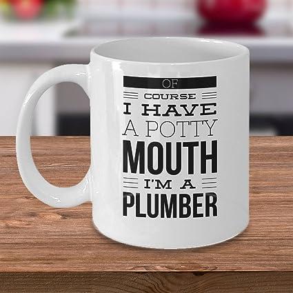 Amazon.com  PAVULI - Plumber Gift Idea - Plumber Coffee Mug - Gifts ... fa087198f