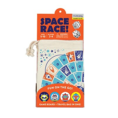 Mudpuppy Space Race Travel Game: Chronicle: Toys & Games [5Bkhe0303337]