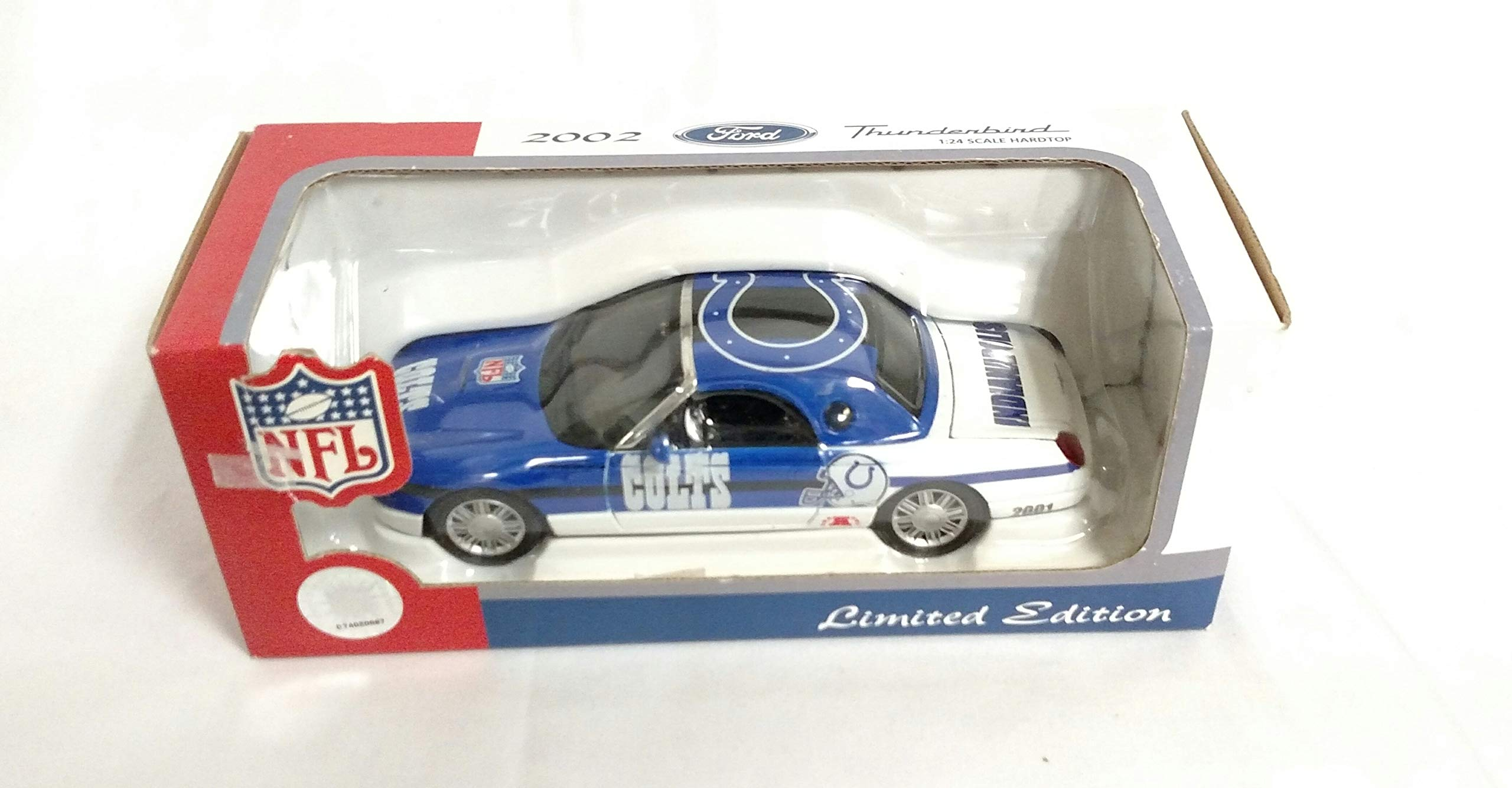 Indianapolis Colts 2002 Ford Thunderbird Limited Edition Die Cast Collectible