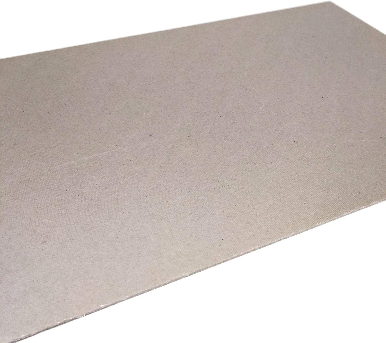 5pcs 0.7 x 200 x 300mm Mica Heat Resistant Insulation Flexible Sheet