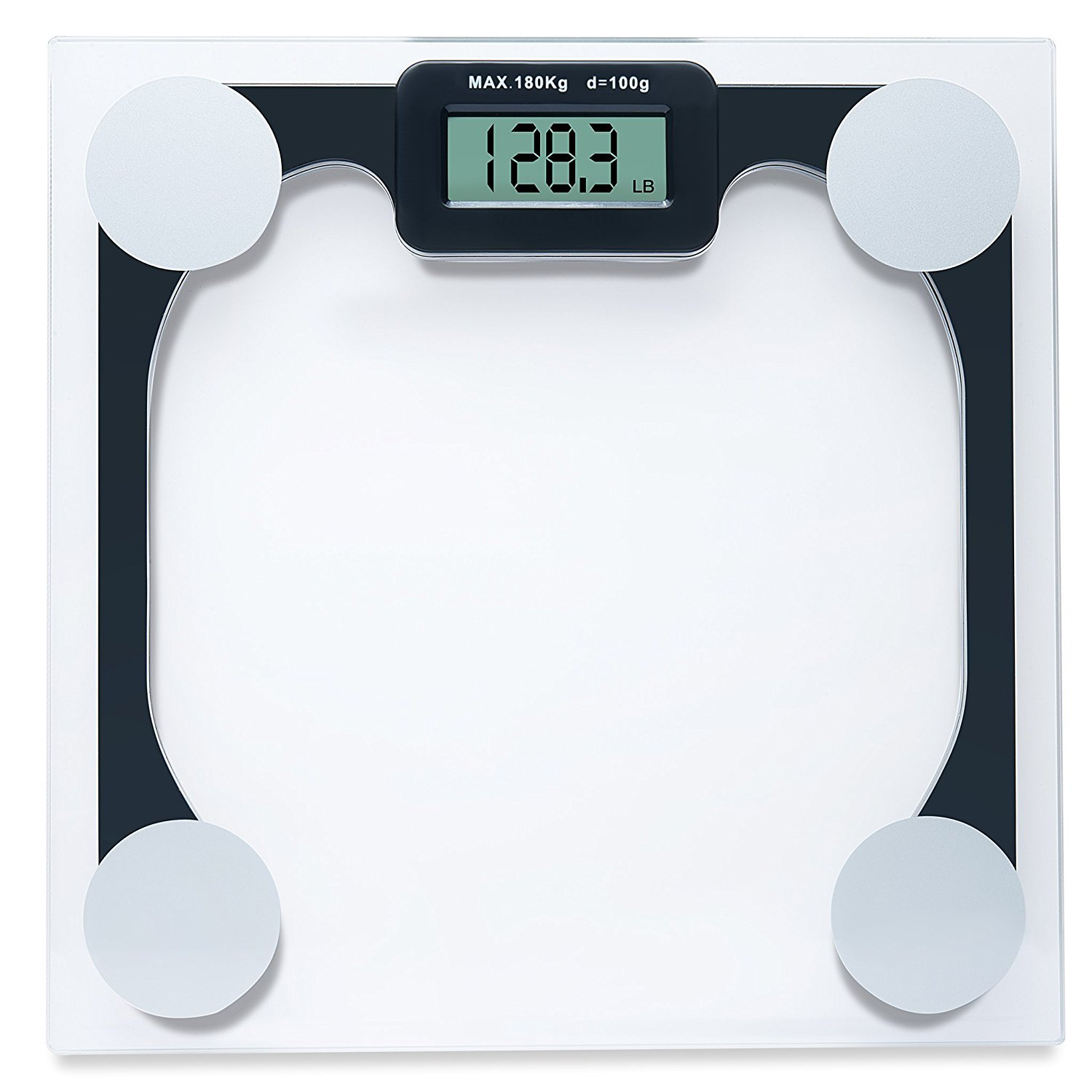Weighing Scale Modern Digital Bathroom Scales 400 Lb Capacity Weight Has Ebay