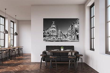 Cuadro PVC Madrid En La Noche | Cuadros Modernos Baratos | Cuadros Decoración | Cuadros Vitage | Cuadros Salón | Cuadros Decoración Salón | Varias ...