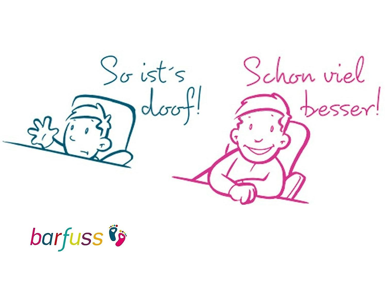 barfuss Stuhl Sitzerh/öhung f/ür Kleinkinder 8cm H/öhe Lamas beige 8cm