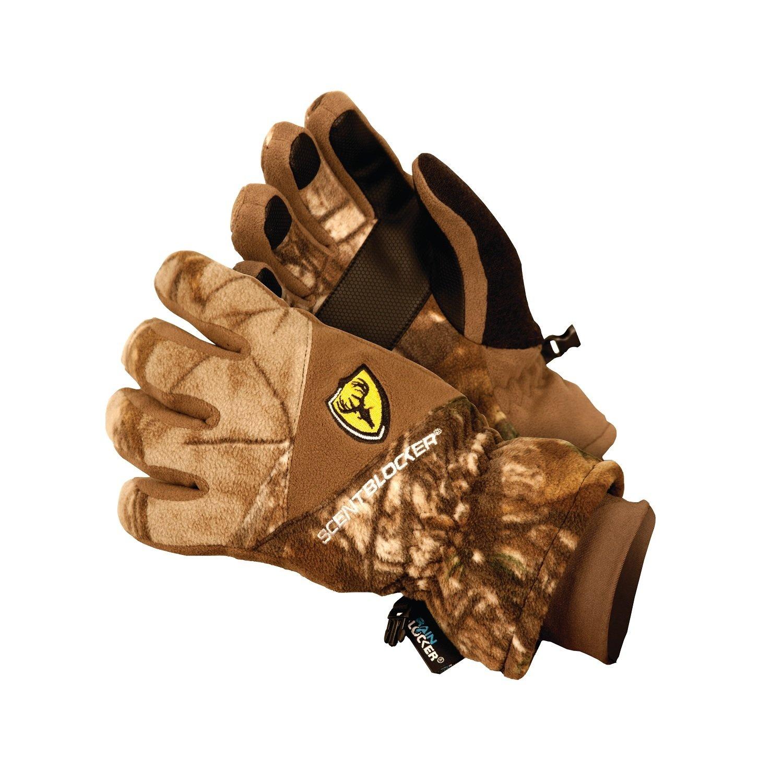 Scent Blocker 1007213 Protec Fleece Insulated Glove-Camo-XL/2XL by Scent Blocker