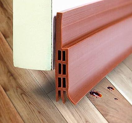 Charmant Door Bottom Seal Strip, Kokome Waterproof Door Under Seal Silicone Door  Sweep Sound Proof Door