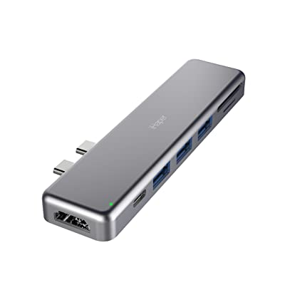 iHaper PD&4K HDMI&メモリーカード対応 7-in-2 USB-Cハブ C001 送料込549円