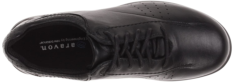 WEF07BK B Aravon Womens Farren Lace-Up,Black Leather,11 M