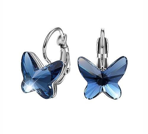 pendientes mariposa swarovski