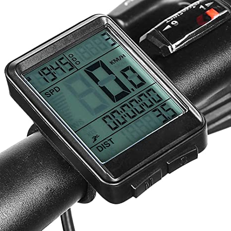 LIDAUTO Bicicleta Ordenador inalámbrico MTB Bicicleta Ciclismo ...