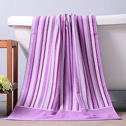 Toallas CHENGYI baño absorbentes Suaves del Hotel baño del algodón casero 140 * 70cm (Color
