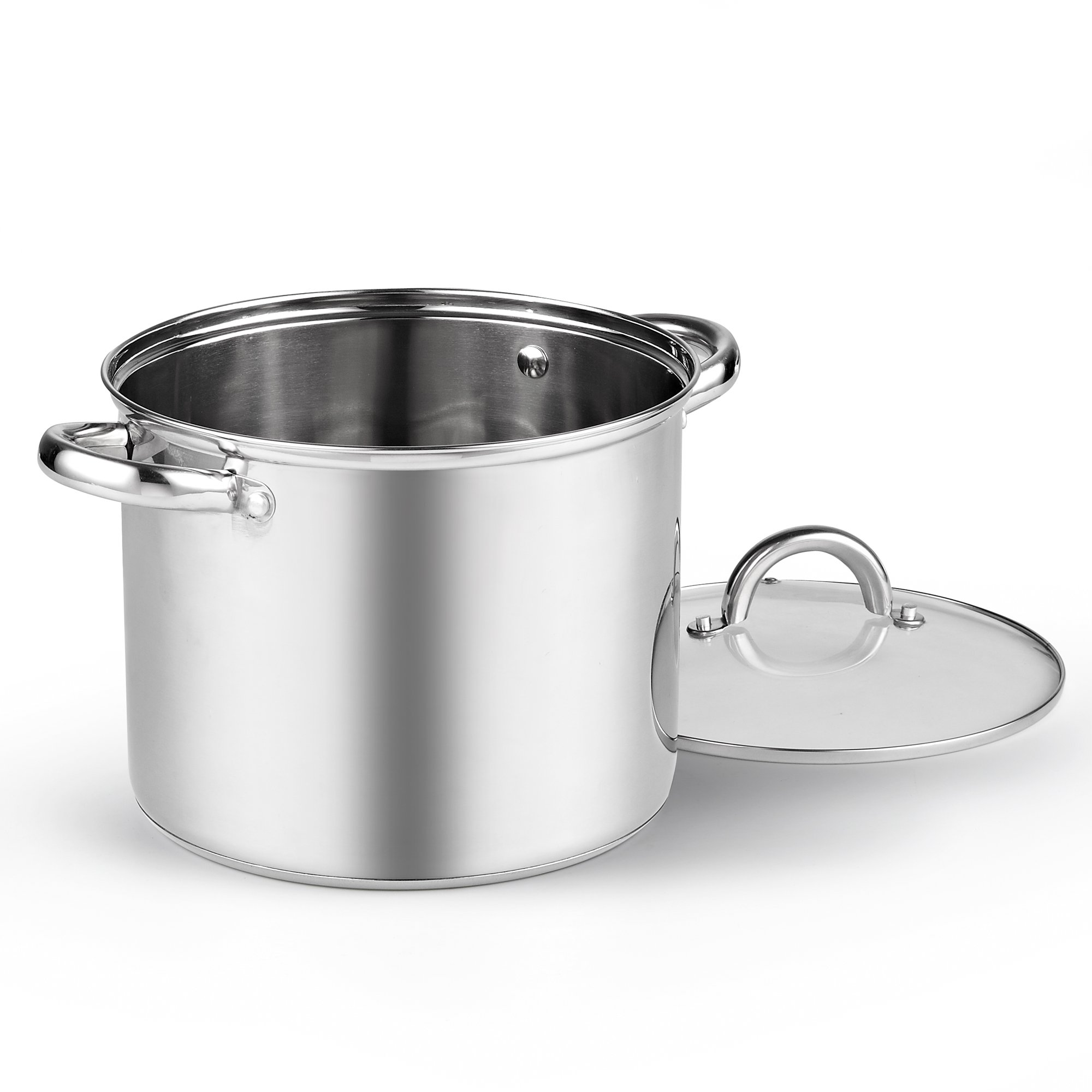 Cook N Home 8 Quart Stainless Steel Stockpot with Lid by Cook N Home (Image #2)