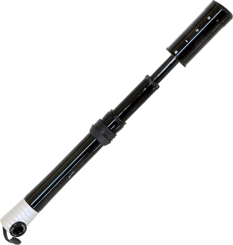 GIYO 470203 Mini pompe t/élescopique Noir 17  cm
