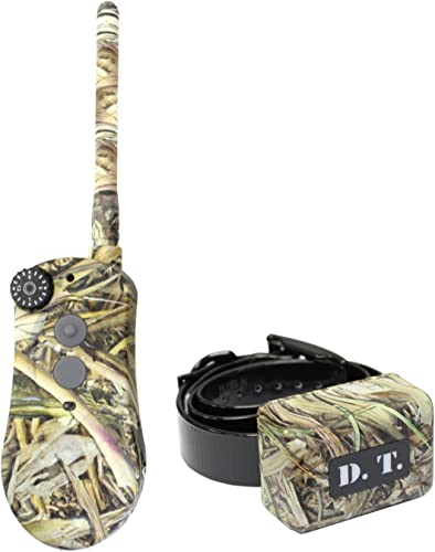 D.T. Systems H2O Series 1810 Plus Dog Training System Fatal Flight Camo Coverup, Expandable to 3 Dogs