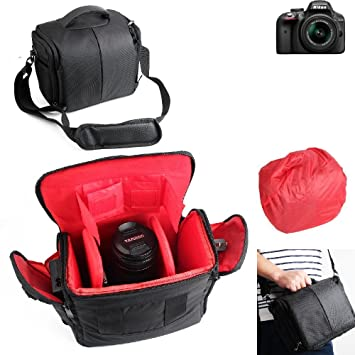 Para Nikon D3300: Impermeable Anti-choque DSLR SLR Camera Case ...