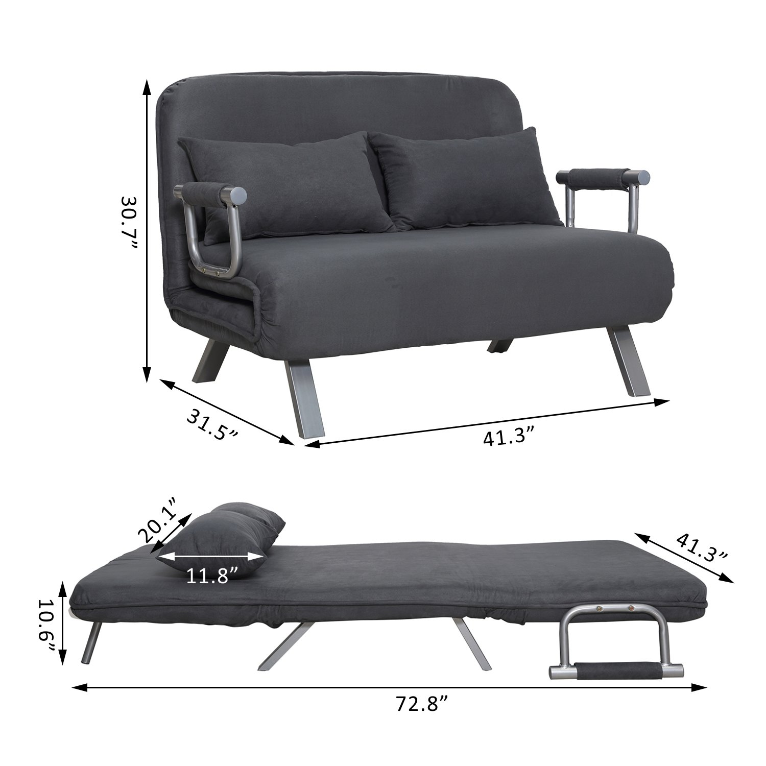 Oversized Sleeper Chairs & Sofas For Heavy People