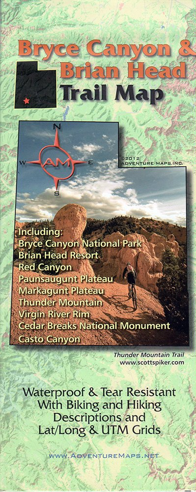 Read Online Bryce Canyon / Brian Head. UT Trail Map PDF