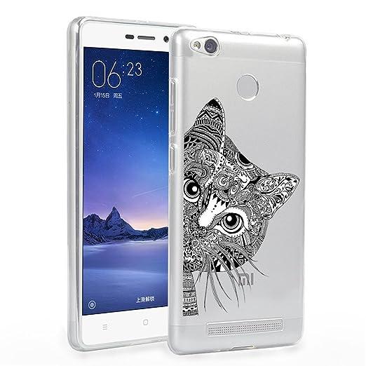 8 opinioni per Xiaomi Redmi 3 Custodia, ocketcase® Morbido Flessibile TPU Gel Silicone Cover
