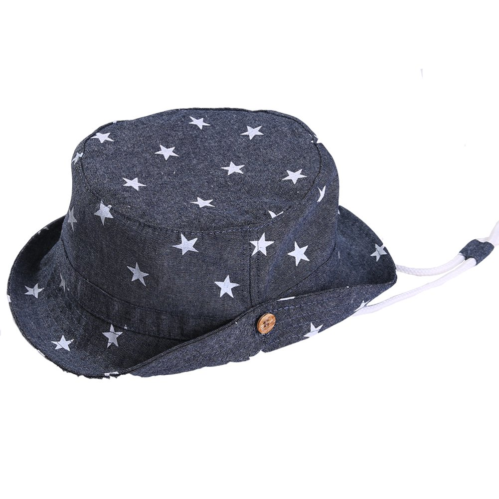 Exemaba HAT ベビーボーイズ B071FY74HJ L|Dark Denim Blue Dark Denim Blue L