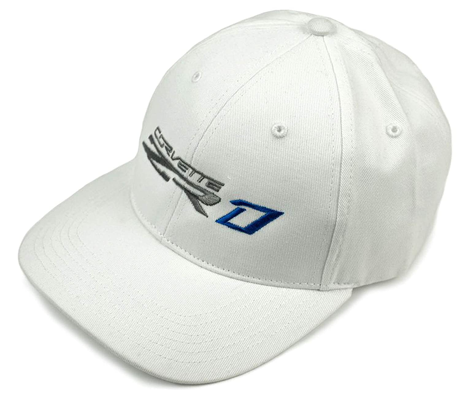 Gregs Automotive ZR1 Corvette Chevrolet Chevy White Hat Cap Bundle with Driving Style Decal