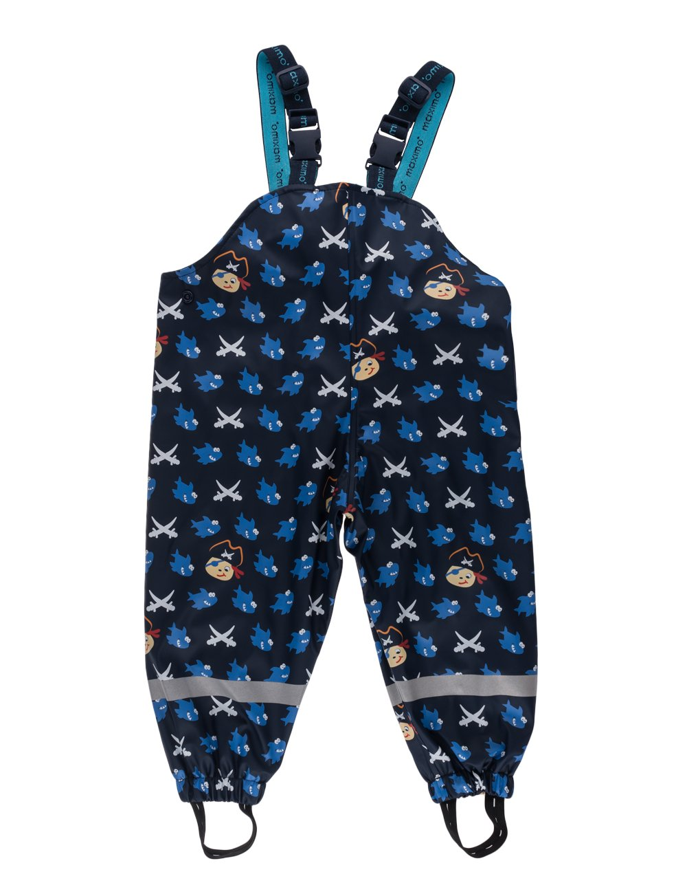 MaxiMo Regenhose Pirat, Jerseyfutteru (blau (navy/aquamarine 1156)), 80/86/12-18 mesi 56203-739000