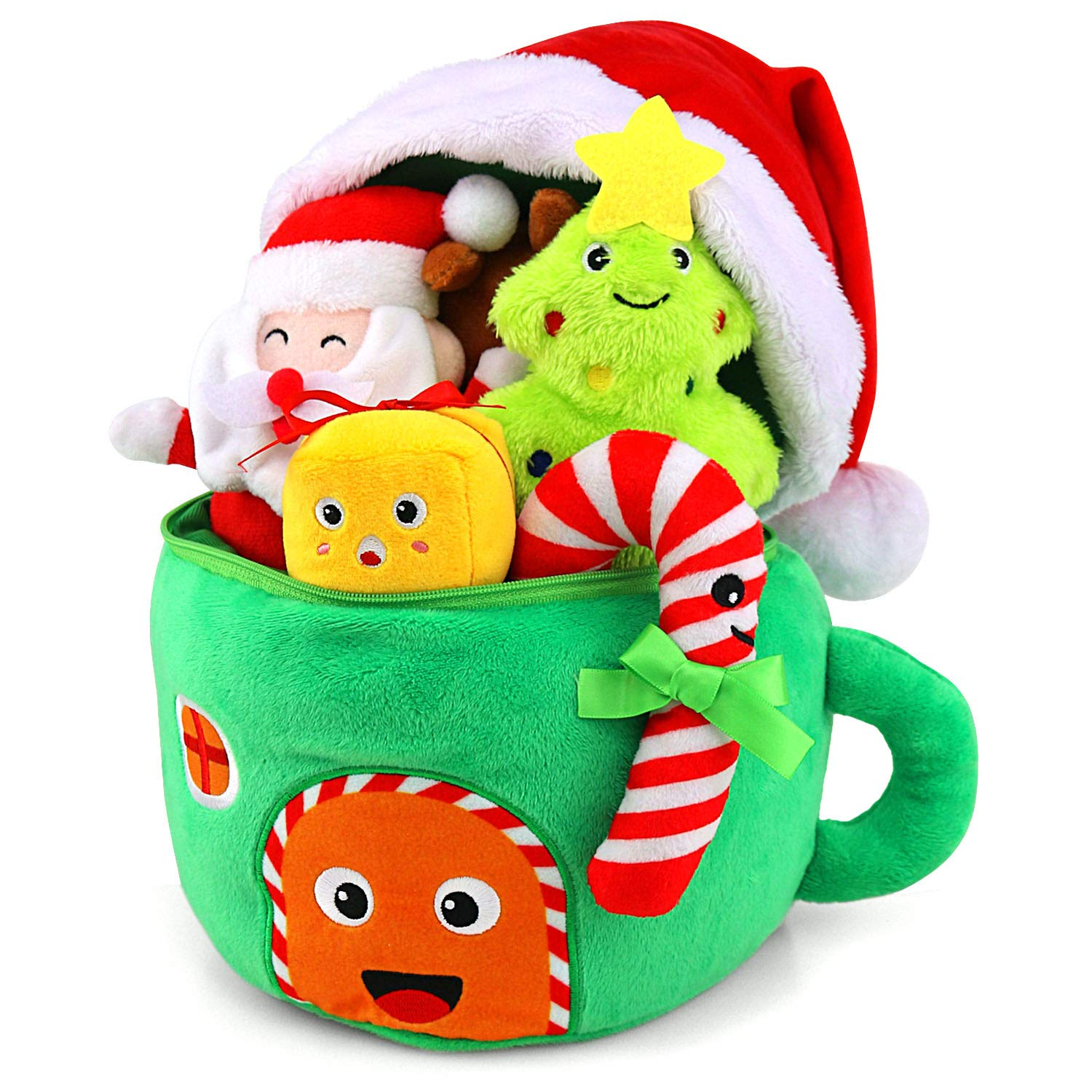 my first baby christmas toy gift set