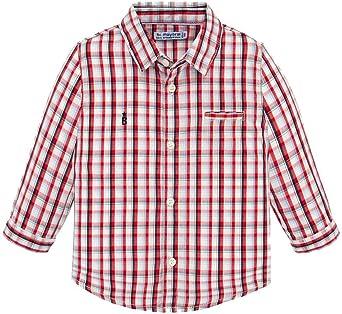 Mayoral Camisa a Cuadros para Niñas, 9 Meses (74 cm), IBISCUS ...