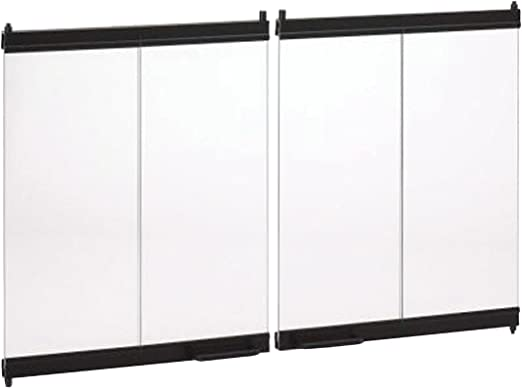 Amazon Com Marco 36 Inch Bi Fold Fireplace Door Set Home Kitchen