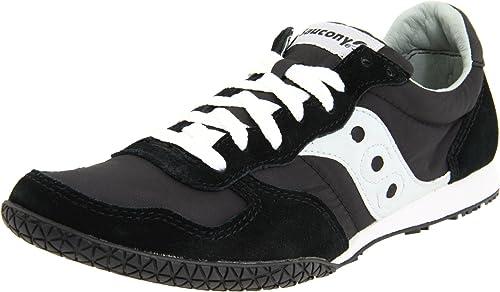 new styles 84772 dff73 Saucony Originals Men s Bullet Classic Sneaker,Black Grey,7 ...