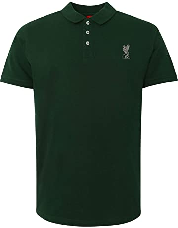 0592cb834 Liverpool FC Green Mens Football Conninsby Polo T-Shirt SS19 LFC Official