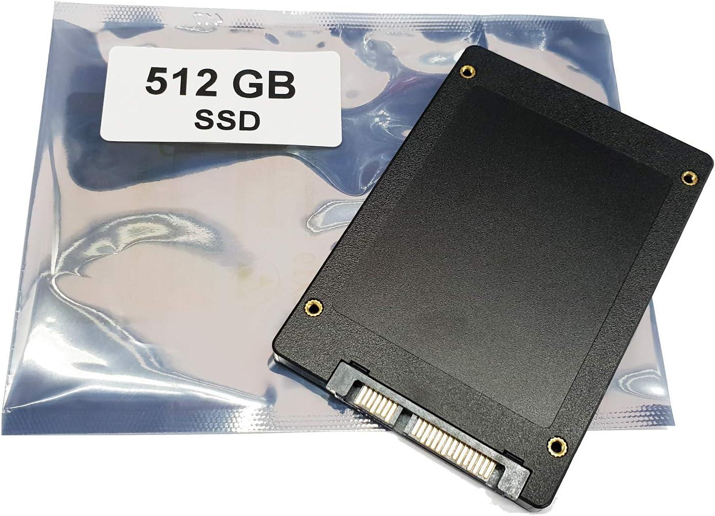 Compatible con Lenovo B51-35 B50-70 B580 B590 | 512GB SSD Disco Duro de 2,5