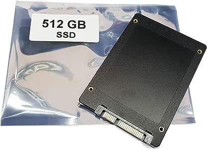 Compatible con ASUS A55A A55D A55DE A55DR A55N | 512GB SSD Disco ...