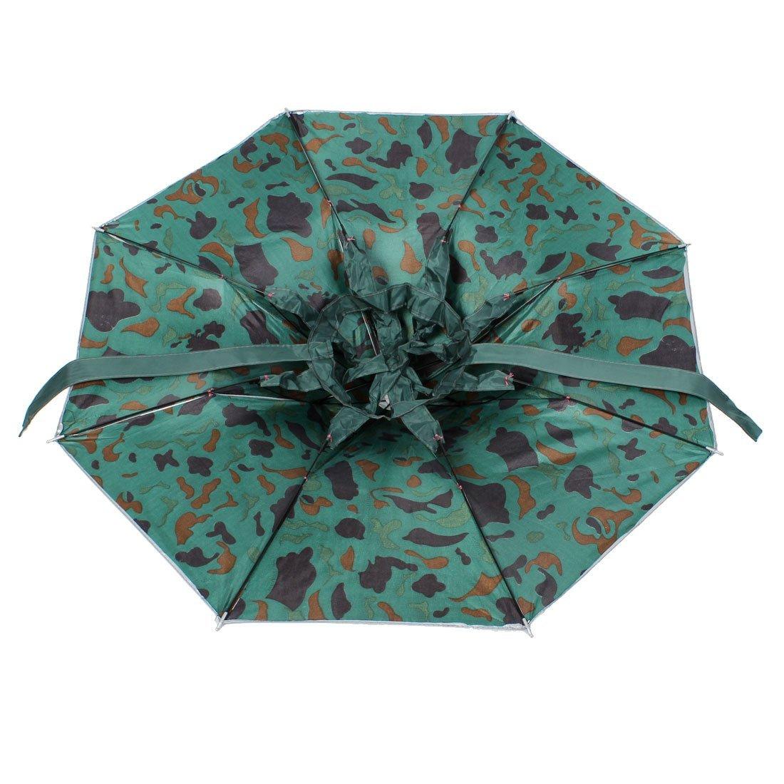 Amazon.com: eDealMax patrón de camuflaje al aire Libre Pesca Sombreros Paraguas Sombrero: Home & Kitchen