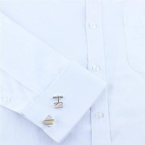 Hawson Style simple Cufflinks-the Meilleur Mariage Boutons de manchette pour homme.