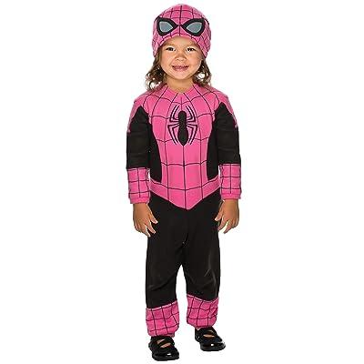 Rubie's Super Hero Adventures Pink Spidergirl Costume: Toys & Games