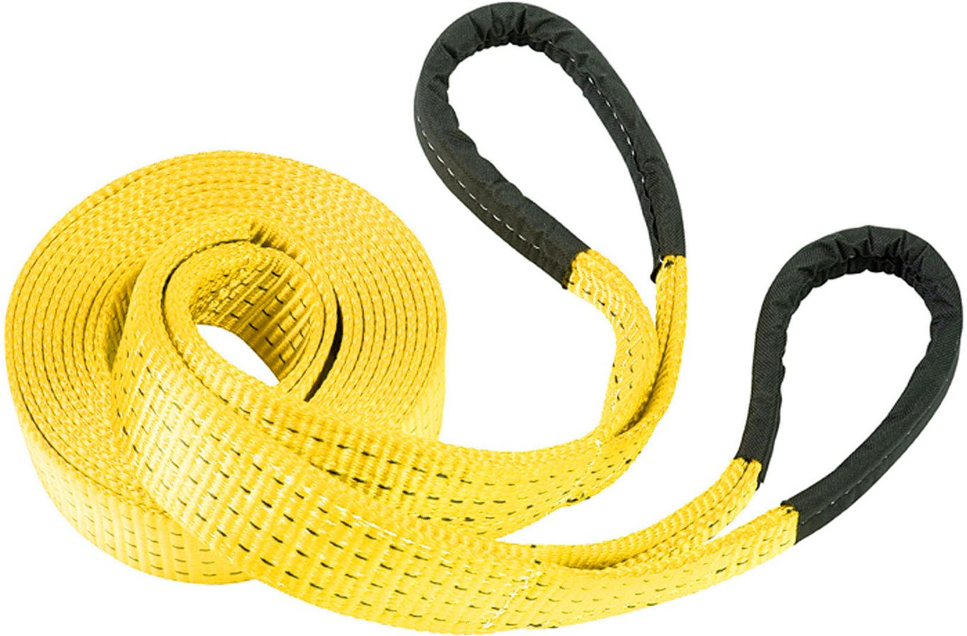RPS Outdoors TOW-113 Deluxe Recovery Tow Strap with 20,000 lb Weight Capacity, Yellow (4 in x 30 ft) by RPS Outdoors