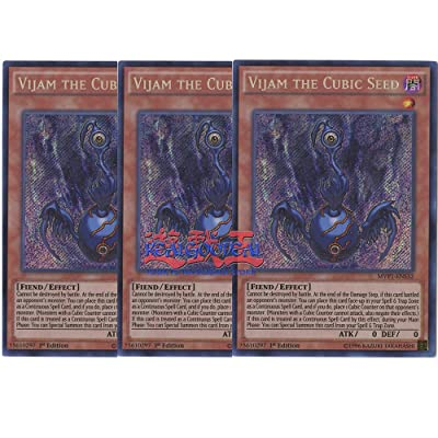 x3 Vijam The Cubic Seed - MVP1-ENS32 - Secret Rare - 1st Edition: Toys & Games
