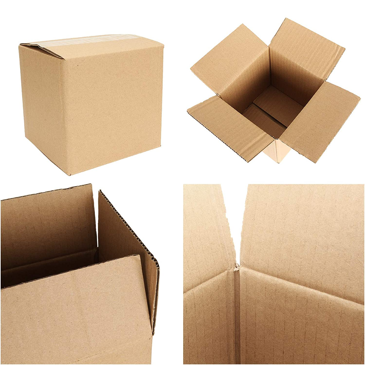 Royal Mail Size 5 x Small Gift Mailing Single Wall Packaging Cardboard Boxes 6x6x6