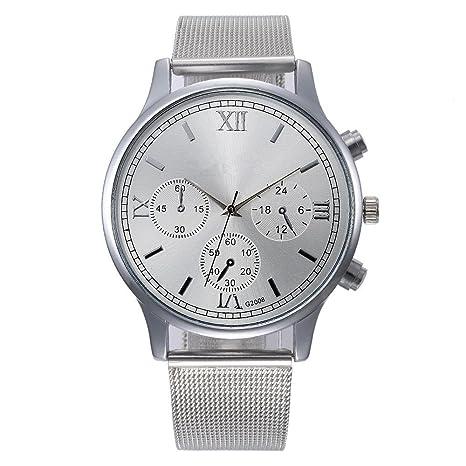 Orologi Sonnena uomo donna con cinturino in acciaio orologio analogico da  polso al 47d979931db
