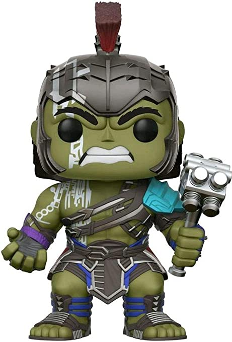 Amazon Com Funko Pop Thor Ragnarok 10 Inch Hulk Target Exclusive 241 Only Hulk Funko Toys Games