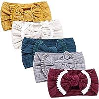 1c832041579 Nylon Newborn Headbands Baby Girl Bow Headband Infant Bows Head Cap Hair  Band