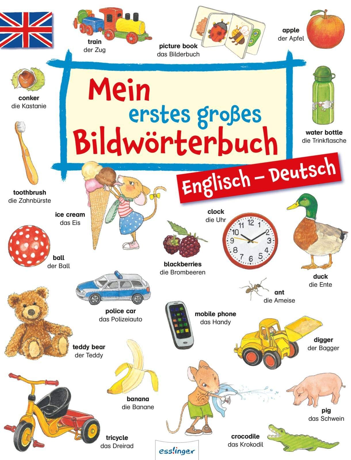Mein erstes großes Bildwörterbuch - Englisch/Deutsch