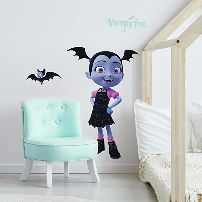 RoomMates Disney Vampirina Peel and Stick Giant Wall Decals