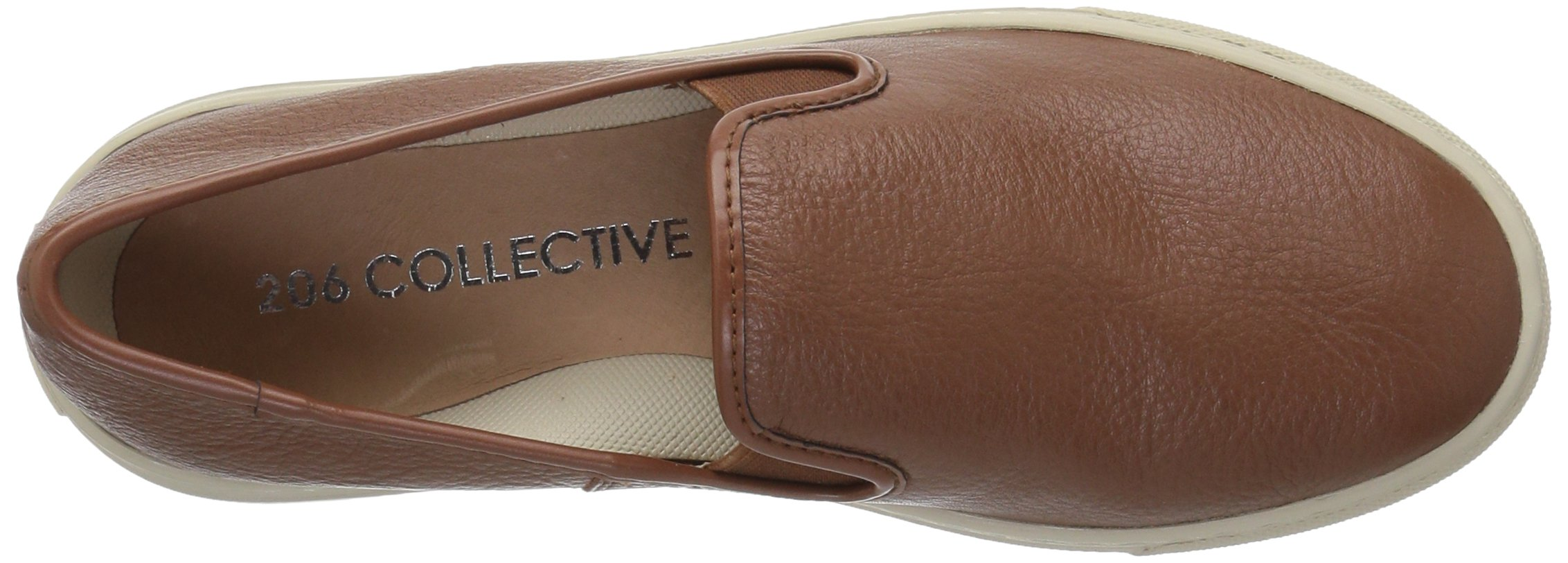 206 Collective Women's Cooper Perforated Slip-on Fashion Sneaker, Cognac Leather, 8.5 B US by 206 Collective (Image #7)