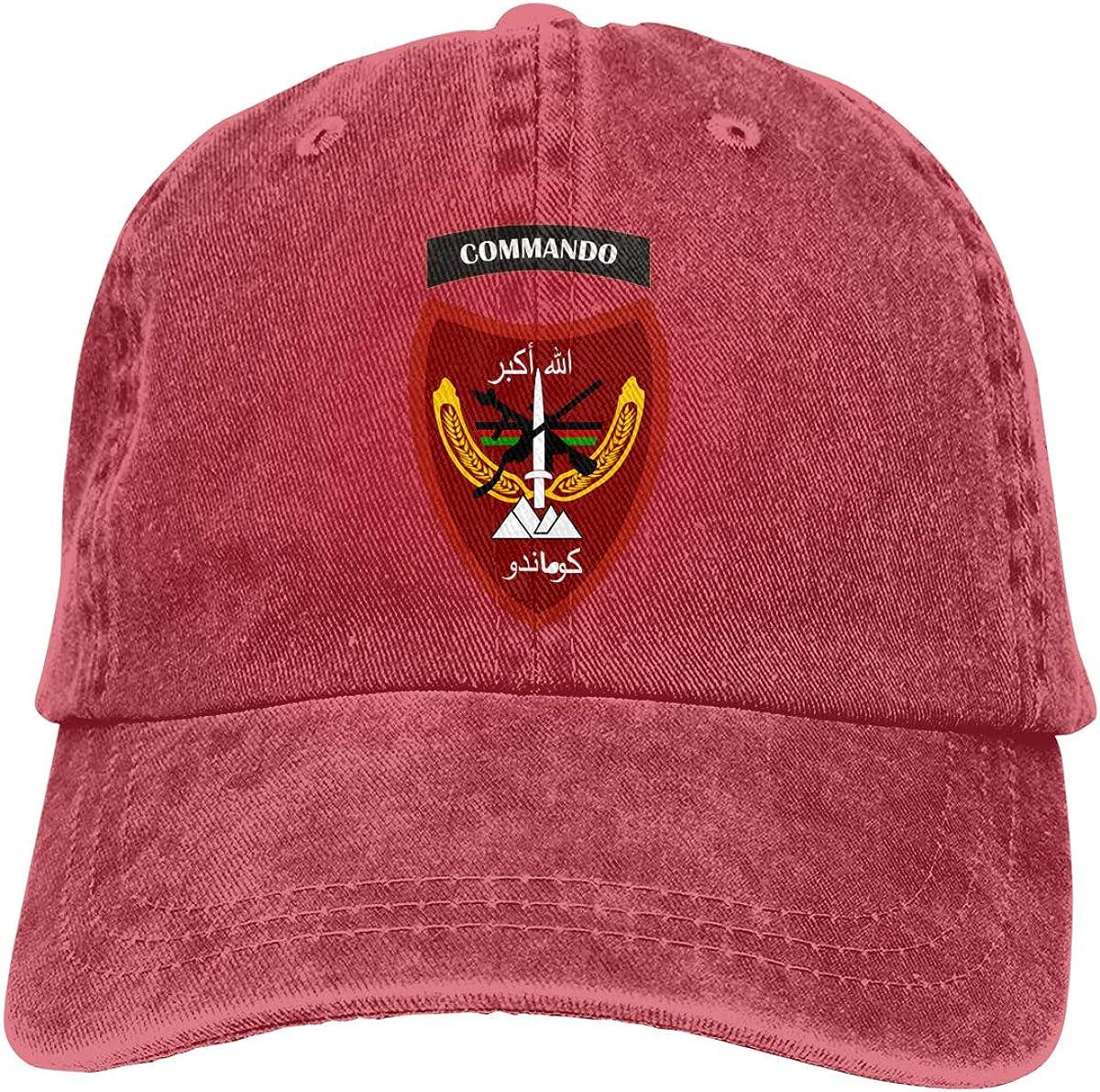 Cappello da Cowboy dellEsercito Nazionale Afgano Commando Corps Classico KioHp per attivit/à allaperto Stile Vintage Asciugatura Rapida Unisex