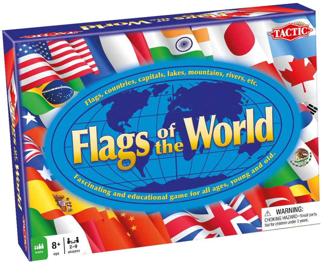 Flags Of The World Educational Game Amazoncouk Toys  Games