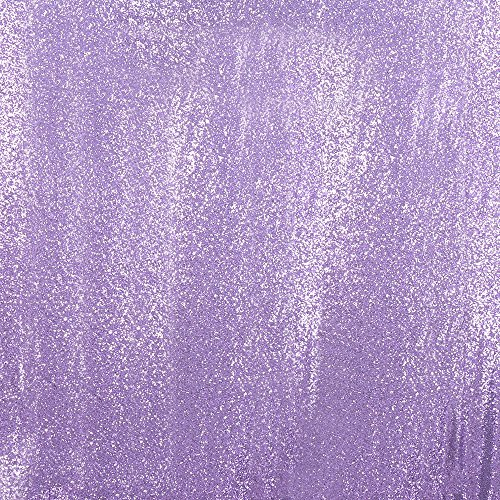 3e Home 7FT x 7FT Sequin Photography Backdrop Curtain for Party Decoration, Lavender