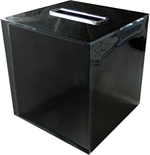 1.5 L x 5.71 W Pink 1.5 L x 5.71 W Nameek/'s Gedy RA02-76 Rainbow Square Tissue Box Black