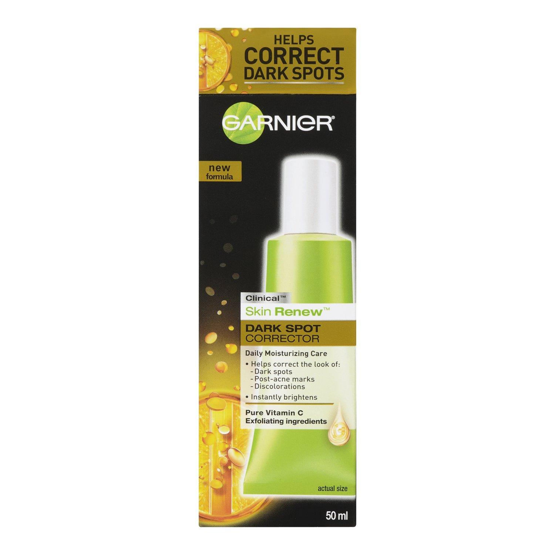 Garnier Skin Renew Clinical Dark Spot Corrector 17 Pure Active Acne Care Whitening Cream 20ml Fluid Ounces Beauty
