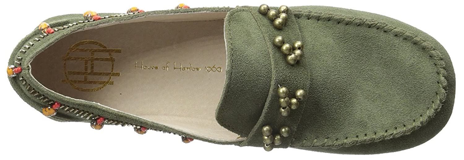 House of Harlow 1960 Women's Shayla Beaded Moccasin