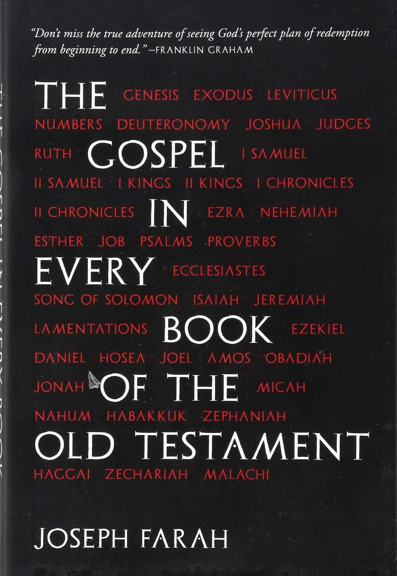 The Gospel in Every Book of the Old Testament: Joseph Farah